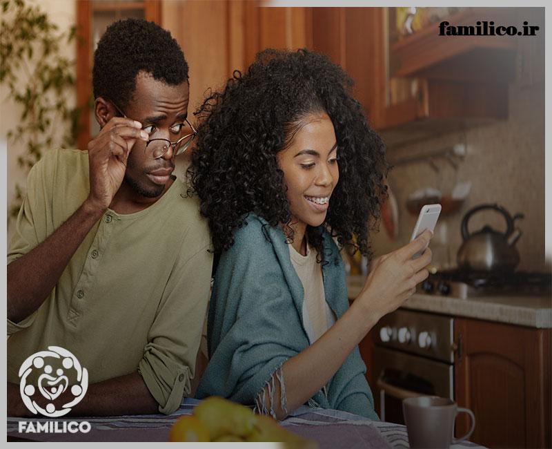 مشاوره خیانت همسر تلفنی