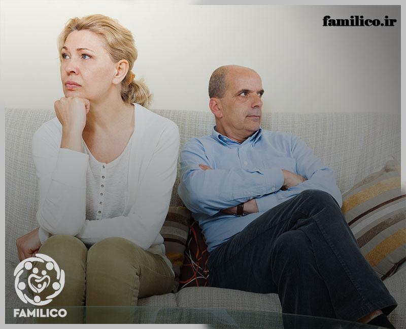 پنهان کاری همسران و دیوارهای بلند بی اعتمادی در زندگی