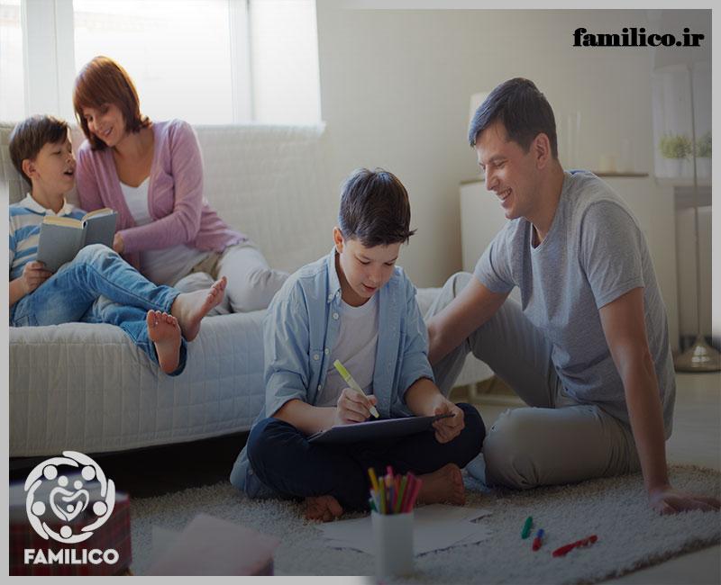 قانون گذاری در خانه برای کودک و نوجوان چطور باید باشد؟