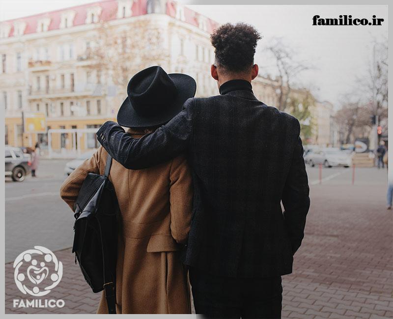 رابطه بین آمار طلاق و قد همسر