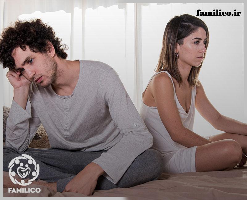 بی توجهی در ازدواج بدون عشق