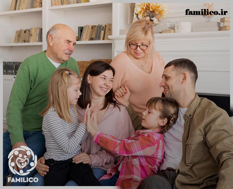 رفتار بالغ در برابر خانواده همسر